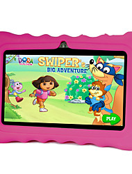 7 дюймов Дети Tablet (Android 4.4 1024*600 Quad Core 512MB RAM 8Гб ROM)
