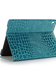 mode crocodile mince étui en cuir de haute qualité pour ipad pro mini-couverture intelligente avec le cas de motif d'alligator socle