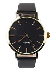 Мужской Наручные часы Кварцевый PU Группа Черный бренд-
