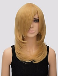 Fashion Wigs Straight Top Quality Blonde Color Synthetic Wigs