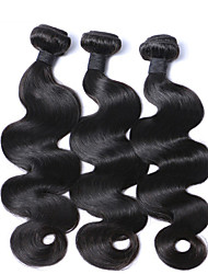 "3pcs/Lot 8""-30"" Mix Size Natural Color Malaysian Body Wave Virgin Human Hair Extensions Bundles"
