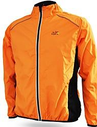 Bike/Cycling Windbreakers / Jacket Unisex Long Sleeve Waterproof / Rain-Proof / Windproof / Sunscreen Terylene SolidYellow / Green /