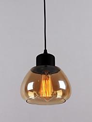 Lampe suspendue ,  Traditionnel/Classique Plaqué Fonctionnalité for Style mini Verre Bureau/Bureau de maison Entrée Couloir Garage