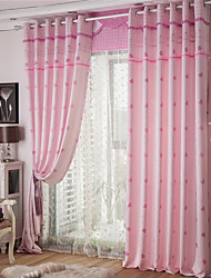 Colorful Floral Printed Curtain Door Window Screen Curtain Window Decor no valance