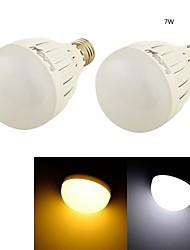 7W E26/E27 Bombillas LED de Globo B 14 SMD 5730 650 lm Blanco Cálido / Blanco Fresco Decorativa AC 85-265 / AC 100-240 / AC 110-130 V2