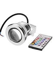 10W Focos LED 1 LED Integrado 500 lm RGB Impermeable AC 12 V 1 pieza