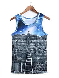 3d vest de Berlijnse Muur afdruk cosplay kostuums cosplay geeky kleding voor man / vrouw