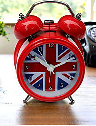 Cool Britannia Union Jack Alarm Clock - Ethos Novelty Gift Retro