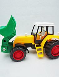 el coche inercial agricultor