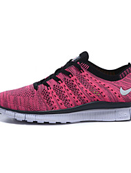 Womens Running Shoes Nike Free 5.0 Flyknit Trainers Sneakers Rose / Red / Purple