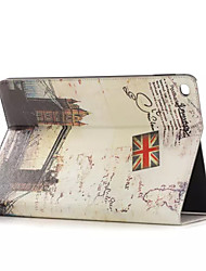Places of Historic Interest Leather Case with Card Holders For Apple iPad Air ,Smart Cover Leather Case