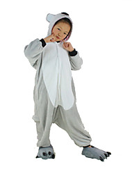 pijama nuevos cosplay® grises de franela koala niños Kigurumi (sin zapatos)