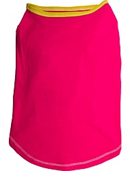 Holdhoney Rose/Red/Blue Plain coloured Cotton T-Shirt For Pets Dogs (Assorted Sizes,Colours) #LT15050271