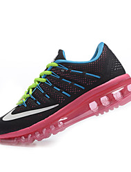 Nike Flyknit Air Max Women's Running Shoes Black Trainers Sneakers Shoes Orange Pink