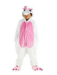 nueva cosplay® pijama rosa unicornio franela niños Kigurumi (sin zapatos)
