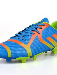 Men's Soccer Shoes Black / Blue / Green / White / Orange