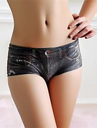 Feminino Calcinhas Ultra Sexy Feminino Seda Sintética