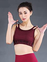 Прочее®Йога Верхняя часть Дышащий Стреч Спортивная одежда Йога / Фитнес / Гонки / Бег Жен.