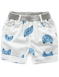 BK  6-12 Y Embroidered Baby Pants Sports Boy's Cotton Summer Children's Clothing 2016 Cartoon