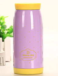 250ML Starry Stainless Steel Vacuum Thermos Cup