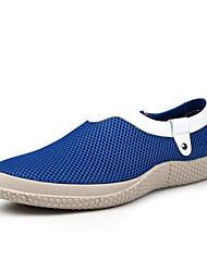 Zapatos de Hombre Mocasines Boda / Oficina y Trabajo / Vestido / Casual / Deporte / Fiesta y Noche Tul Azul / Gris