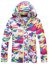 Camouflage Transparent Sun Shirt Short Jacket Beach Clothing UV Sunscreen