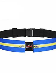 Sports Bag Waist Bag/Waistpack / Belt Pouch/Belt Bag Quick Dry / Rain-Proof / Reflective Strip / Dust Proof / Close Body Running BagAll