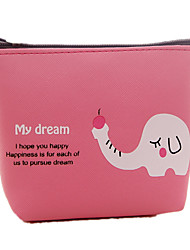 New PU Cartoon Cute Animal Money Bags PU Key Bags Creative Coin Purse Small Wallets