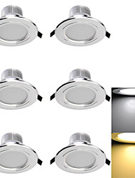 YouOKLight® 6PCS 3W CRI>70 300LM  6-SMD5730 Warm White  Cold White  LED Downlights (AC110-120V/220-240V/85~265V)