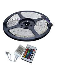 YouOkLight 5 M 300 3528 SMD RGB Можно резать / Подсветка для авто / Самоклеющиеся / Меняет цвета 25 W Гибкие светодиодные ленты DC12 V