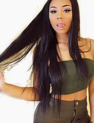 Silky Straight Human Hair Wigs Virgin Brazilian Hair Full Lace Wig For Black Women Full Lace Human Hair Wigs