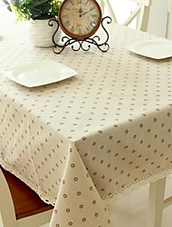 Floral Pattern Table Cloth Fashion Hotsale High-grade Cotton Linen Square Coffee Table Cloth Cover Towel
