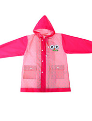 Girl's Red Trench Coat,Cartoon Polyester Summer / Spring
