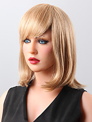 монолитным прямые человеческие волосы парики 9 цветов на выбор