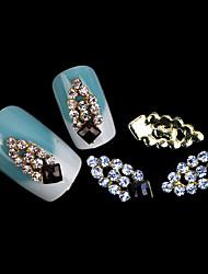lovely opala água mentais diy unhas jóias (5pcs)