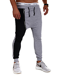 Running Pants/Trousers/Overtrousers / Bottoms Men's Breathable / Moisture Permeability / Thermal / Warm CottonYoga / Exercise & Fitness /