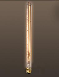 40w e26 e27 estilo retro indústria bastão elétrico lâmpada incandescente