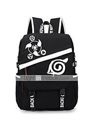 Bag Inspired by Naruto Naruto Uzumaki Anime Cosplay Accessories Bag / Backpack Black Canvas Male / Female