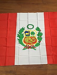 Flag Of Peru 3Ftx5Ft Quality Polyester Activities Home Decor Are Sold World Flags