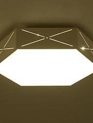 Modern LED Mini Style Painting Metal Flush Mount Living Room / Bedroom / Dining Room / Kitchen / Bathroom Ceiling Lamp