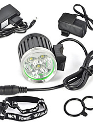 6000LM 3x XML T6 LED Front bicycle light Bike Lamp Headlamp+8800mAh Battery Pack