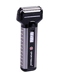 Depilador Elétrico Unissex Rosto Elétrico Distribuidor de Lubrificante / Cabeça Giratória Barbeador Seco Aço Inoxidável other