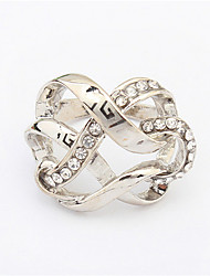 Staggered Fashion Exaggerated Ring