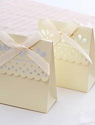 Geschenkboxen / Geschenktaschen / Plätzchen Beutel / Geschenk Schachteln(Elfenbeinweiß,Kartonpapier) -Nicht personalisiert-Hochzeit /