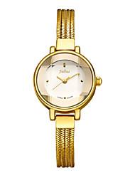 Julius® Exquisite Women Watch Snakelike Stainless Steel Bracelets Design Fashion Small Dial Wristwatch JA-599