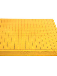 Royal St. 32 Mm Fish Wood A Two-Sided Dual-Use Chinese Chess Board Suit Go Suit Single Go Dish (Excluding Pieces