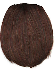 Wig Dark Golden 8CM High-Temperature Wire knife style bangs Colour 3017