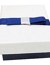 Blue and white square Necklace Gift Box