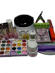 25 Set Nail Kit Nail Art Decoration Accessories Nail DIY Nail Polish Kit