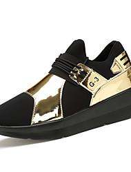 Men's Shoes EU39-EU44 Casual/Travel/Outdoor Fabric Leather Fashion Sneakers Hip-hop Style Shoes